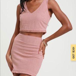 Lulus pink set